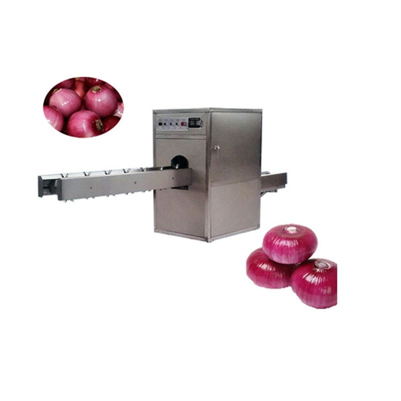 onion head and tail cutting machine